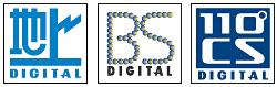 地上波/BS/110度CSデジタル